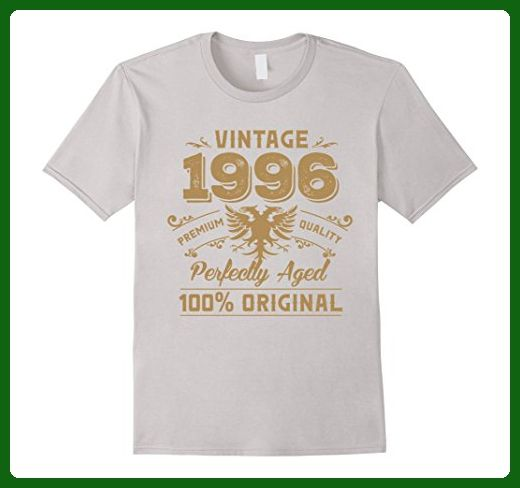 Mens Vintage Perfectly Aged 1996 Birthday Gift For 21 Years Old XL Silver