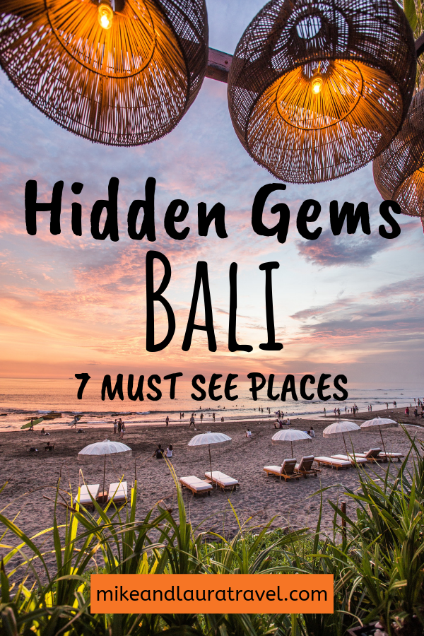 Bali is a congested tourist island, but with these 7 places sure to get your off the beaten path and away from the crows. Add these amazing places in Bali to your bucket list and explore everything this beautiful island has to offer. #balitravel #travelasia #bali