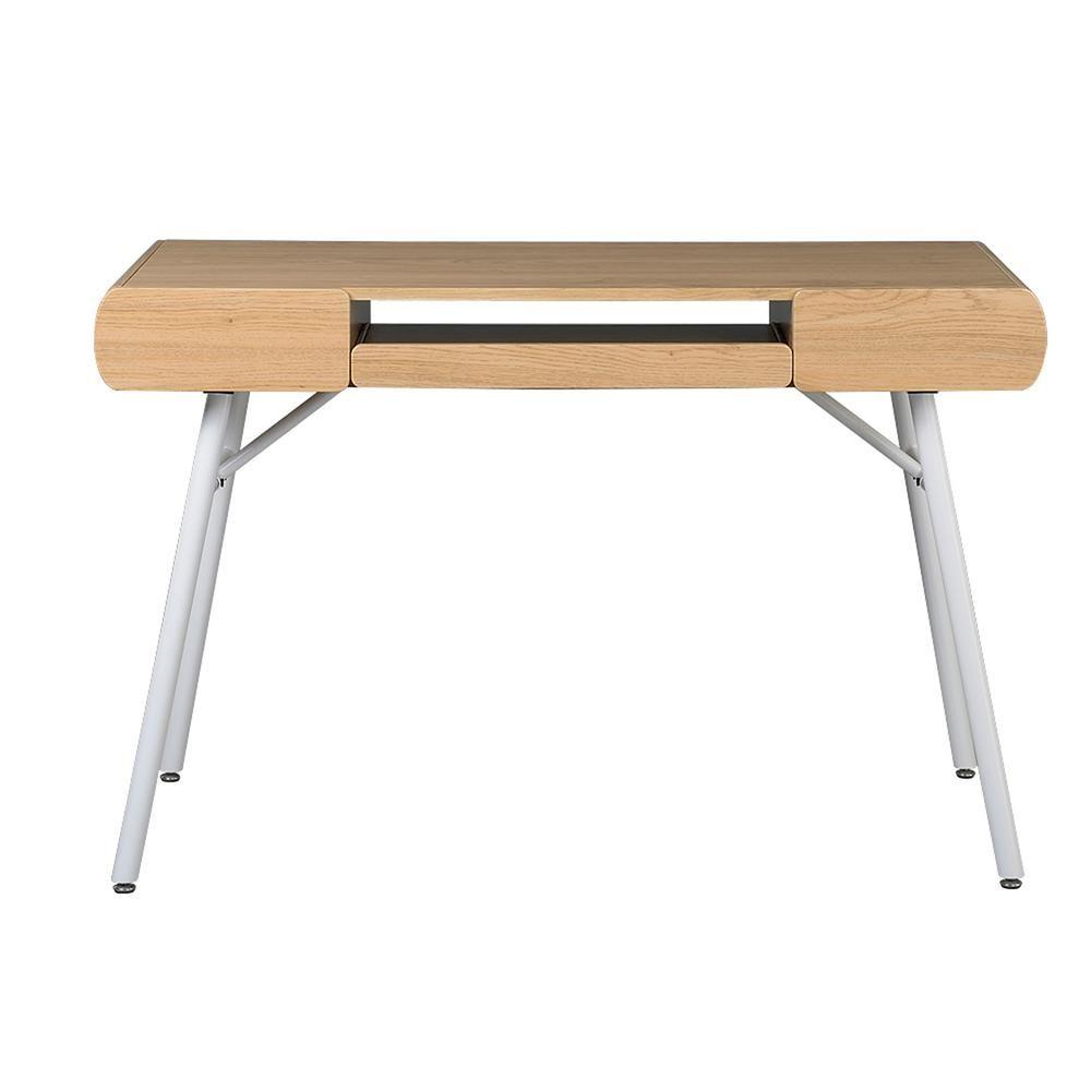 Techni Mobili Pine Multi Storage Writing Desk Green Desk Desk