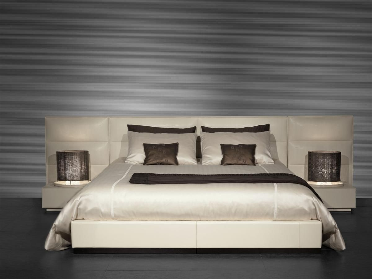 Lenzuola Matrimoniali Fendi.Fendi Casa Atmosfere Eleganti Modern Bedroom Decor Bed