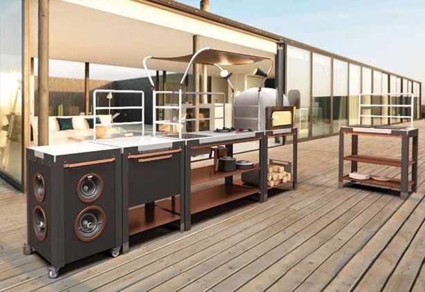 Satellite Outdoor Kitchen By Riccardo Randi Riccardo Trabattoni - Outdoor-modular-kitchens-by-jcorradi