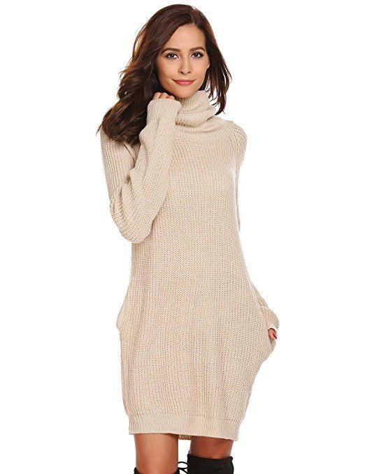 Strickkleid damen winter