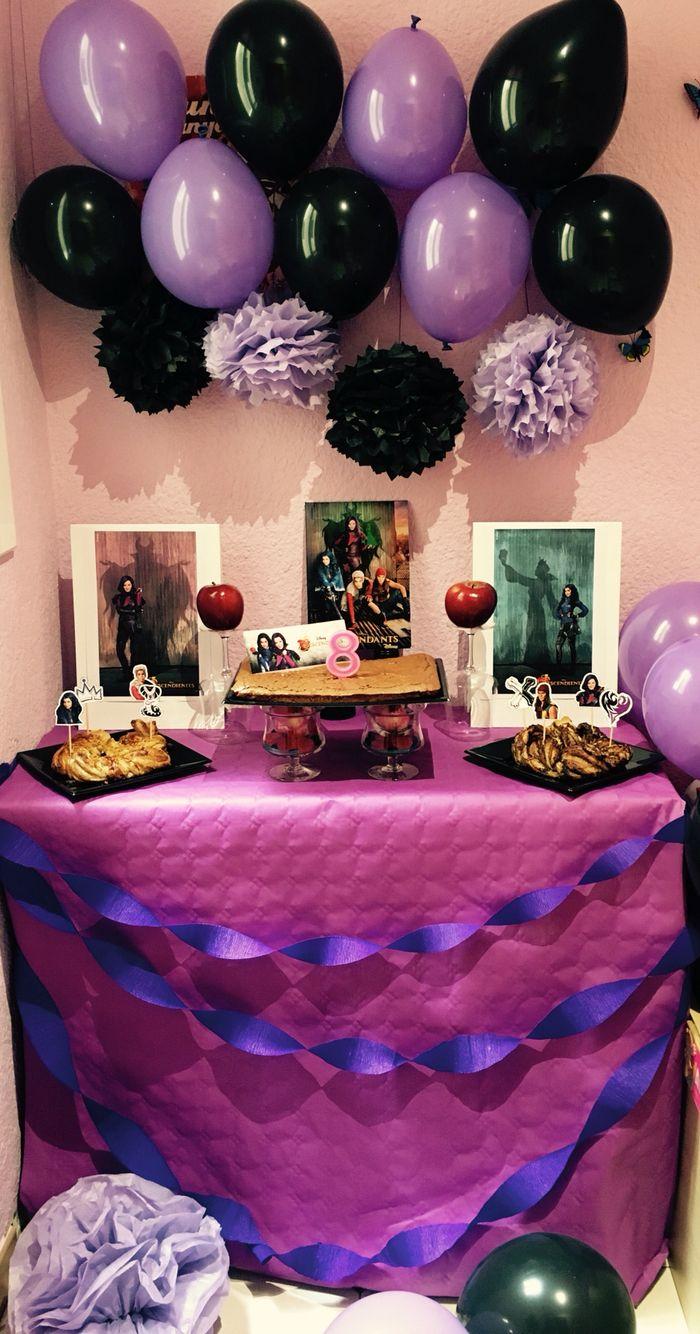 Decoraci n de 8 cumplea os inspirado en los - Decoracion de fiestas de cumpleanos infantiles ...
