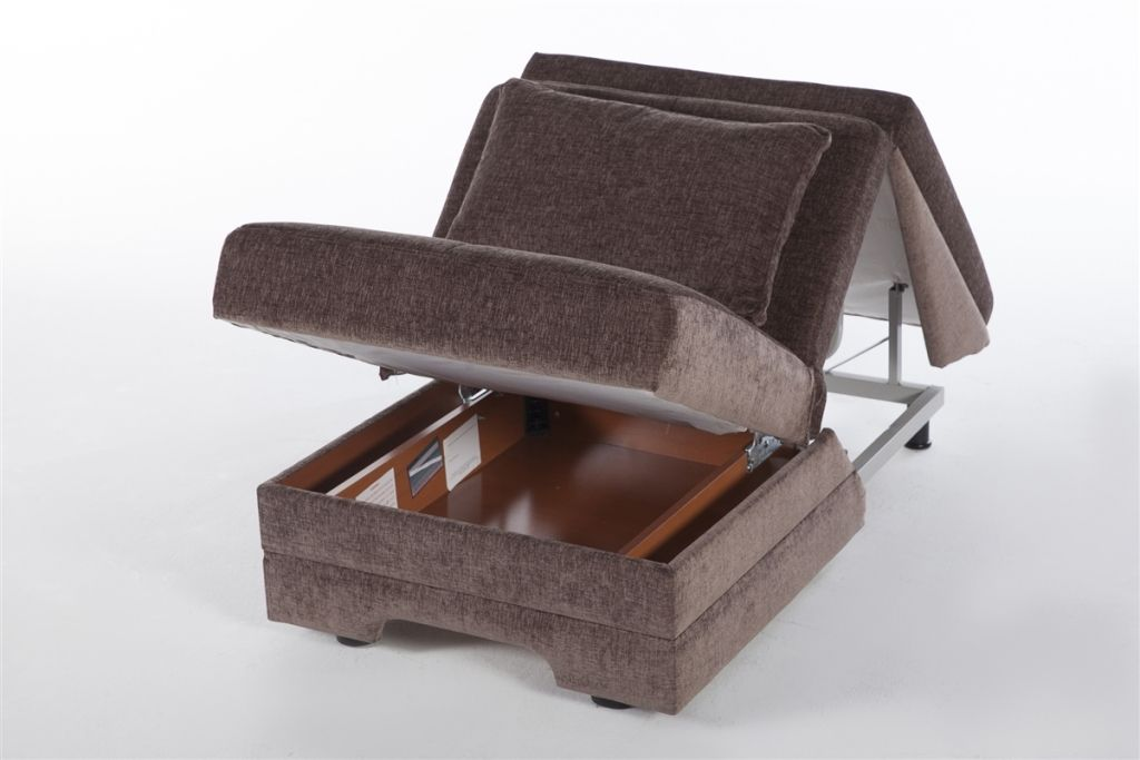 chair to bed convertible steel used in wwe twist armless by istikbal castro sleeper chable