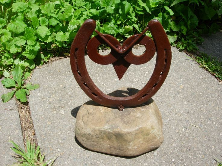 Junk Yard Art Owls - Bing images