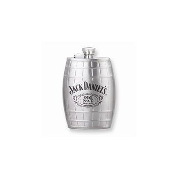 Jack Daniel's 6 oz Stainless Steel Barrel Flask