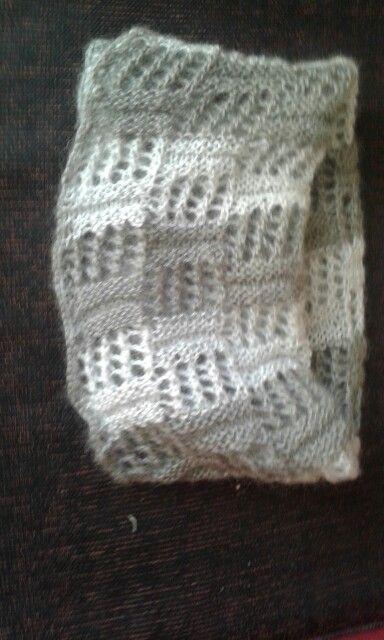 autentico migliore aspetto dettagliato Scaldacollo in lana mohair a punto traforato