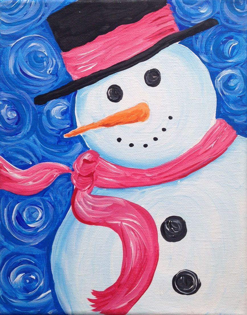 Kid Friendly Party Arty Paint Parties Christmas Canvas Christmas Paintings On Canvas Christmas Paintings