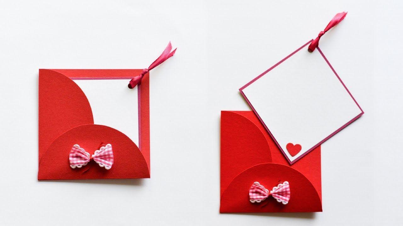 How To Make Greeting Card With Envelope Kartka Okolicznociowa Z