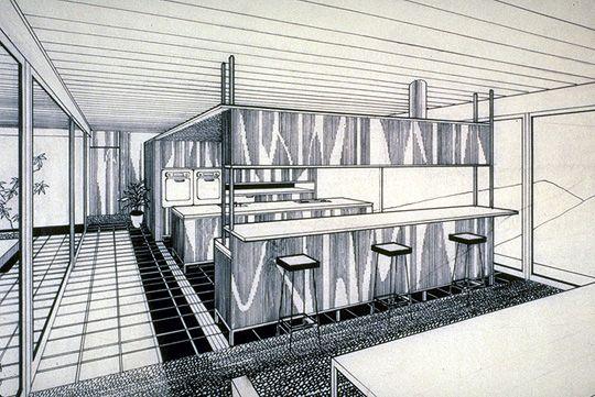 Case Study House N 22 Stahl House Los Angeles 1960 Pierre Koenig Mit Bildern Bilder