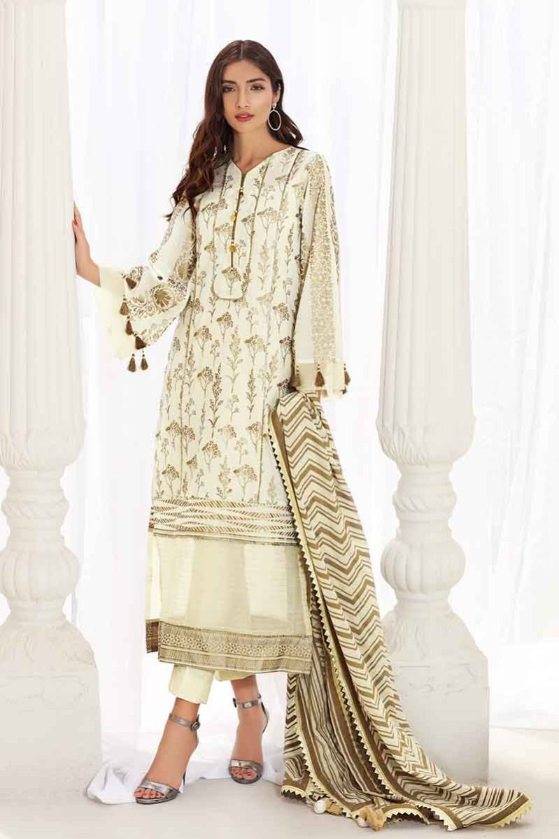 eb81588e13 Pin by Ayleen Batool on Gul Ahmed Eid Collection 2019 For Women in 2019 | Eid  collection, Eid, Off white