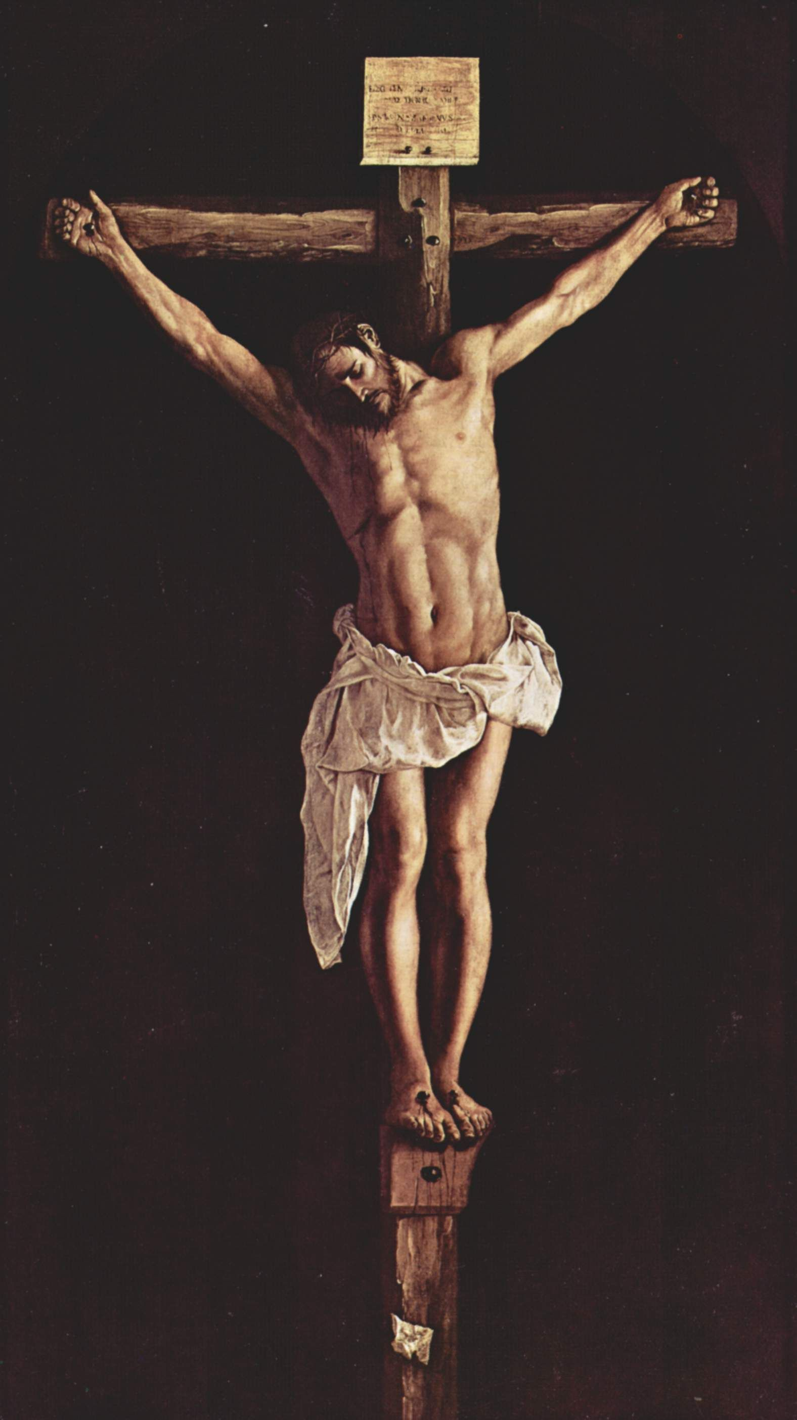 christ on the cross francisco de zurbaran 1627 this is