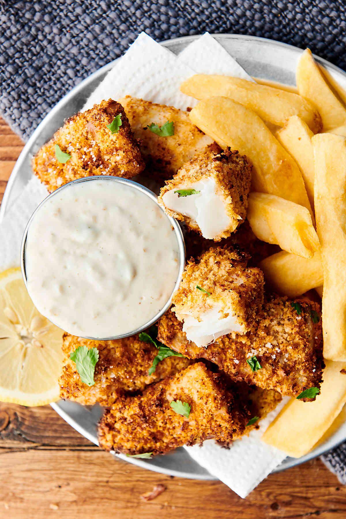 Homemade Healthy Air Fryer Fish Sticks Recipe Food