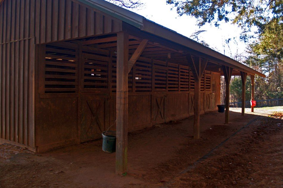 Horse Stall at Mars Hall