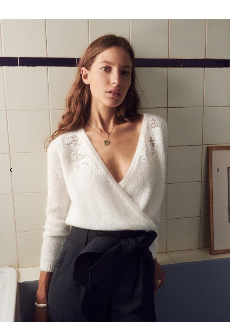 Photo of Sézane's French Tops for Fall