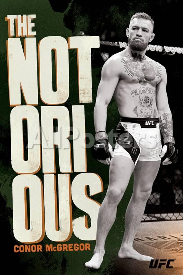 edd3a9ed7af73 UFC: Conor McGregor-The Notorious Sports Poster - 61 x 91 cm ...