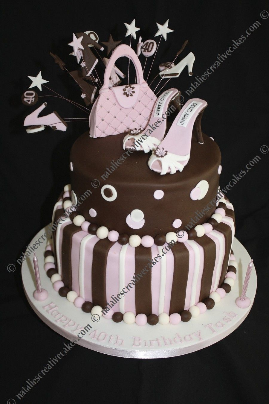 Natalies Creative Cakes Glamorous Girls Ladies Cakes Caution