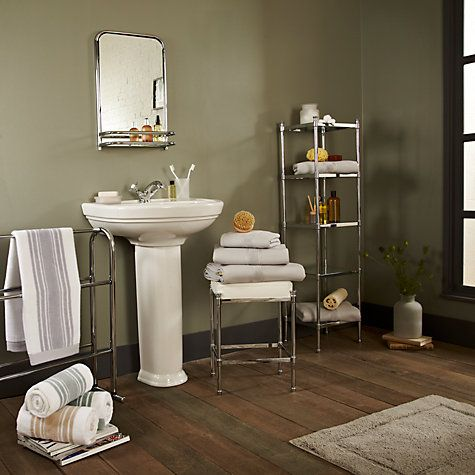 Bathroom Sinks John Lewis towel horse, chrome | bathroom towels, john lewis and towels
