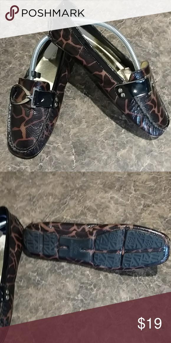 7ebbfda4a56 Anne Klein Iflex Loafers size 8m Anne Klein Iflex loafers. Size 8m. Leopard  print