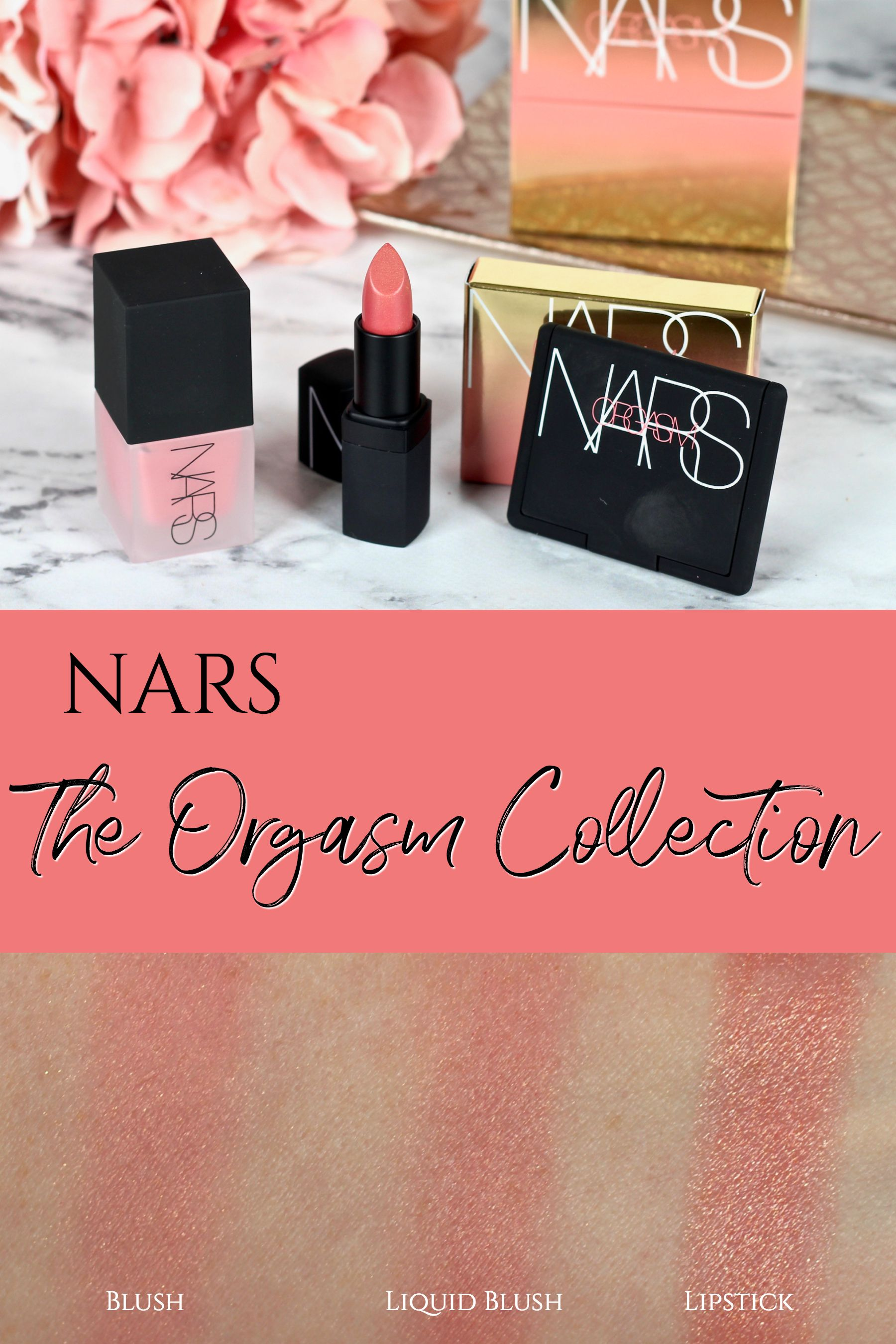 NARS The Orgasm Collection – New Products in the Iconic Shade