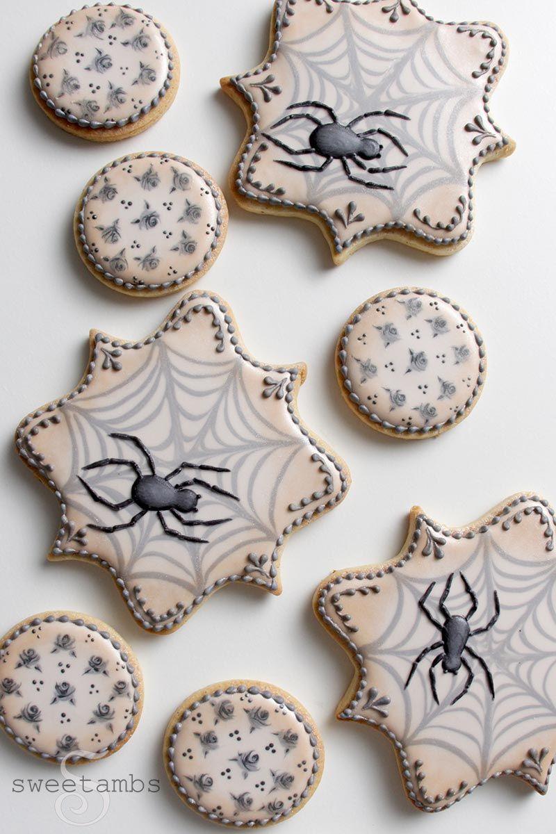 Halloween Spider Cookies Spider cookies, Halloween