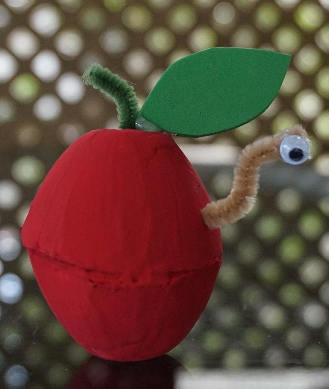 Bricolage Petite Pomme D 39 Automne Taps Craft And Arts Plastiques