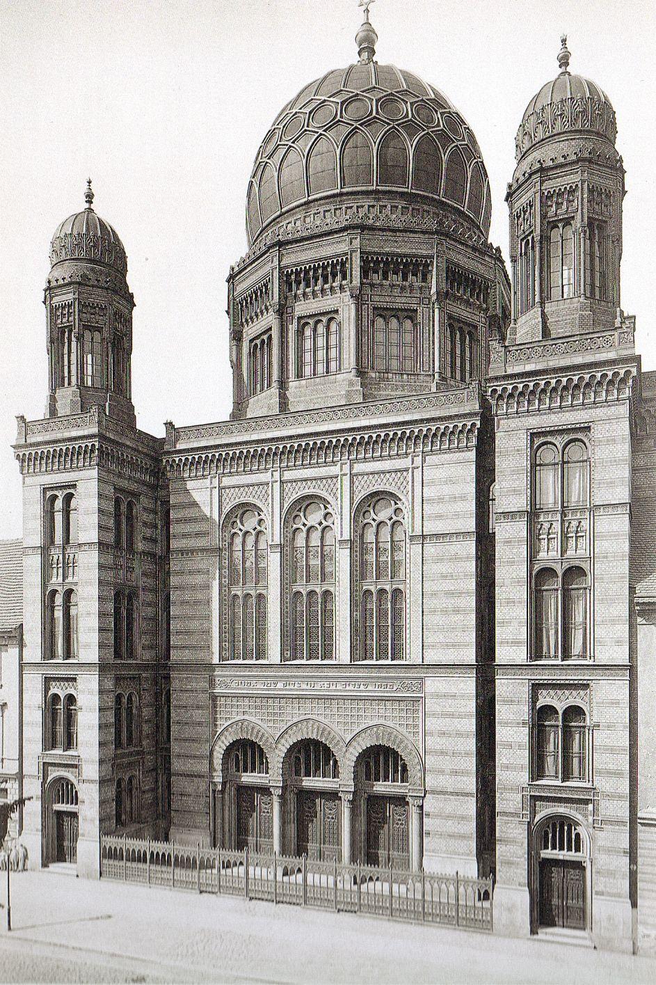 Hermann R Ckwardt Berlin Neue Synagoge 1880 Berlin