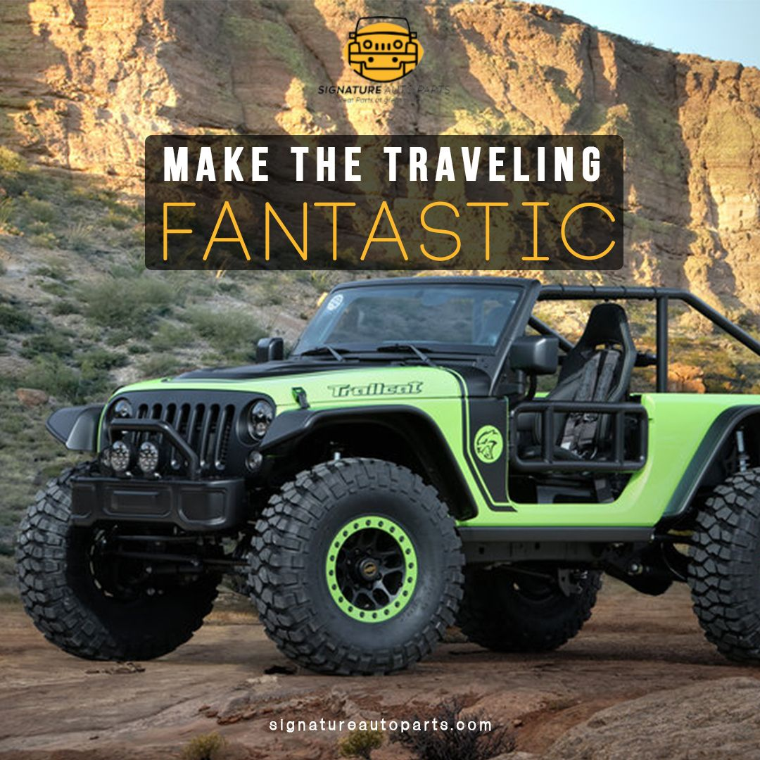 Make The Travelling Fantastic Offroad 4x4 Jeep Wrangler