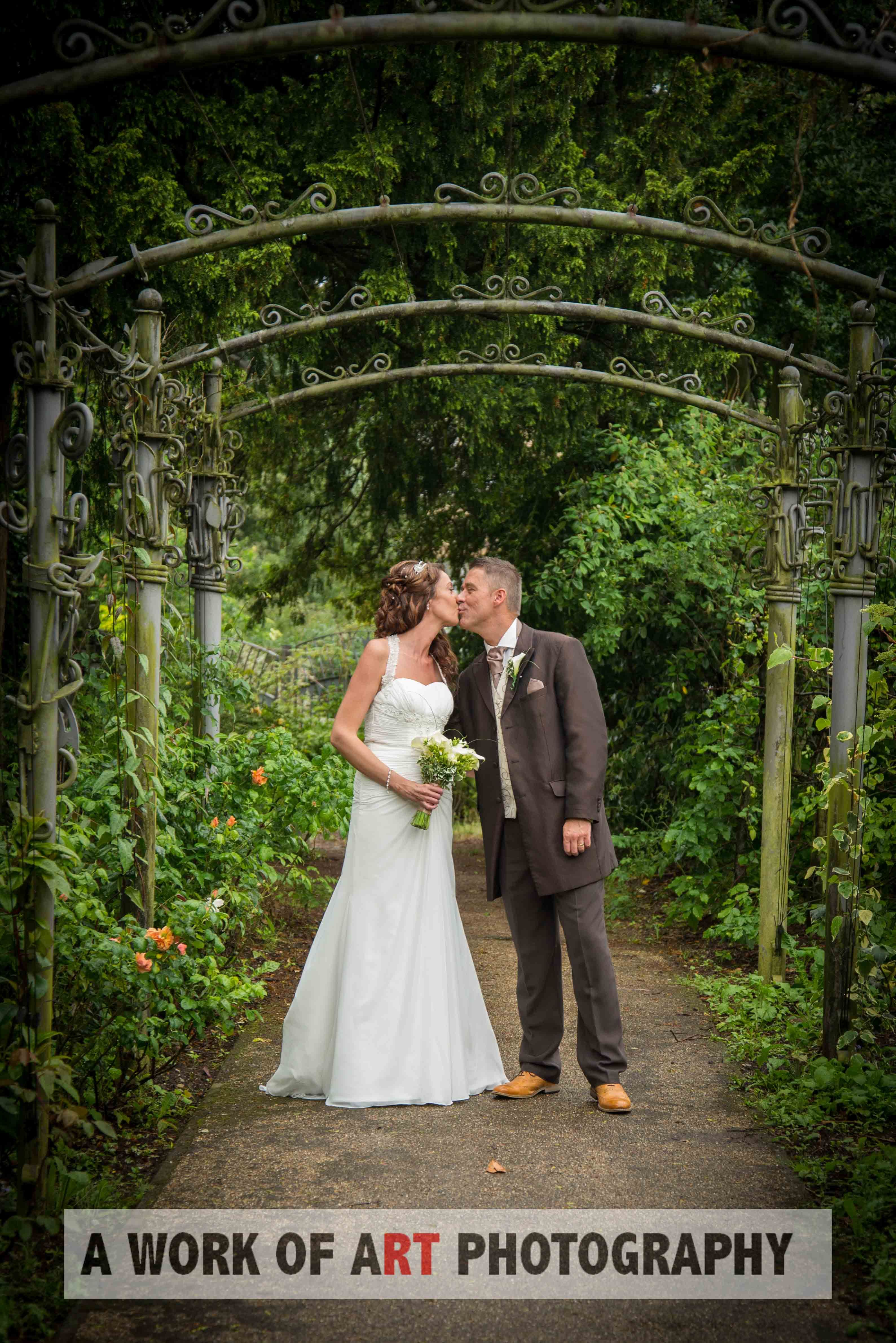 Wedding Photography by A Work of Art Photography at Mansfield Manor Hotel, Carr Bank Park