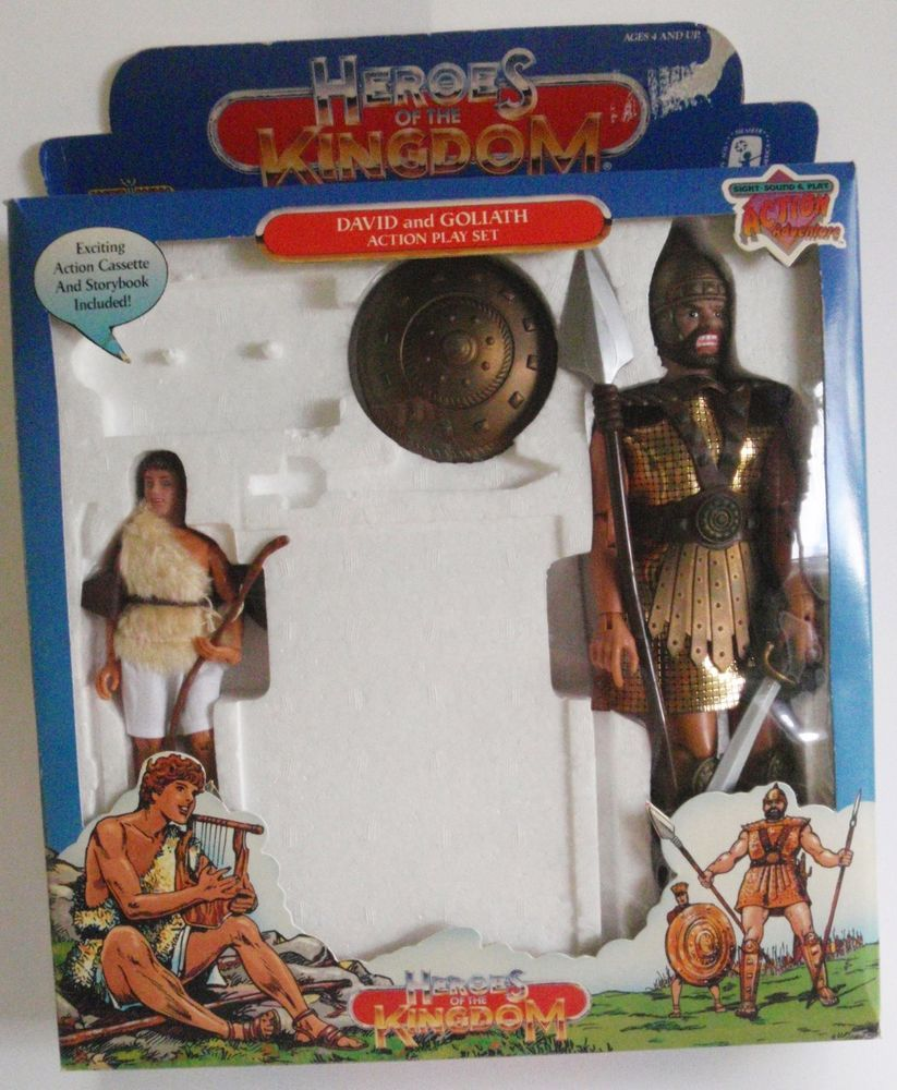 David And Goliath Action Figures Tales of Glory Story ... |David And Goliath Action Figures