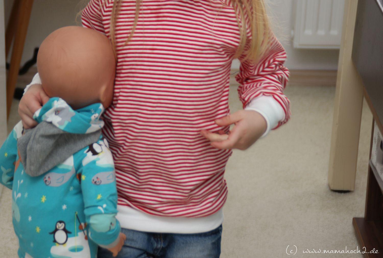 Puppensachen nähen - Schnittmuster verkleinern | Nähen schnittmuster ...