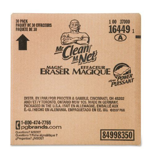 Magic Erasers Sponge Magic Eraser Mr Clean Extra 30 Each Case By Procter And Gamble 163 71 Magic Erasers Sponge Ma Magic Eraser Cleaning Eraser