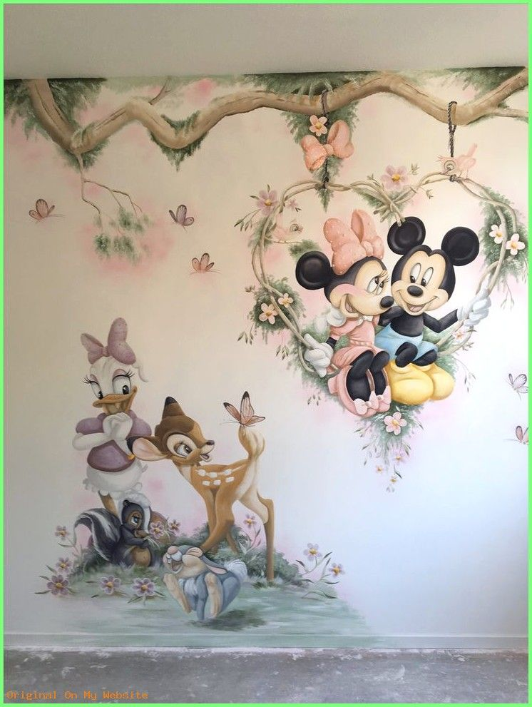 Babyzimmer Wandgestaltung Disney