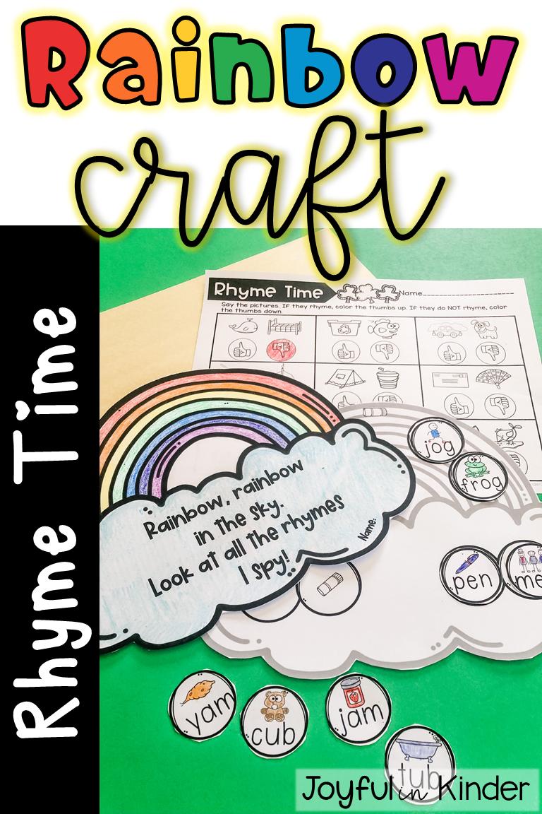 Rainbow Rhyme Time In 2020 Rhyming Activities Kindergarten Reading Rhyming Worksheet [ 1152 x 768 Pixel ]