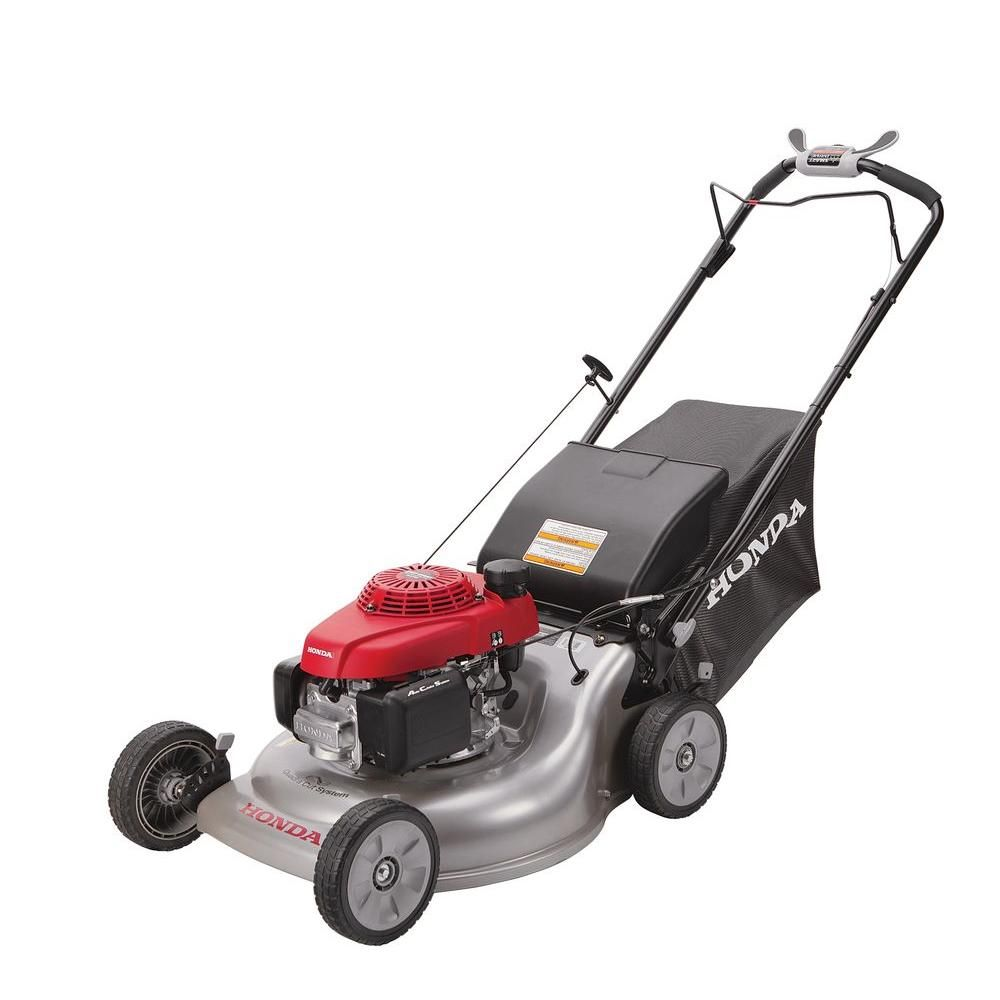 Honda 21 In 3 In 1 Variable Speed Gas Walk Behind Self Propelled Lawn Mower With Auto Choke Hrr216vka The Home Depot Best Lawn Mower Push Lawn Mower Self Propelled Mower