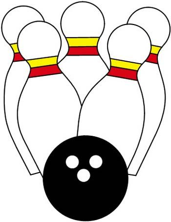 Tenpin Bowling Color Key From Darryl S Stained Glass Patterns Stained Glass Patterns Stained Glass Pattern