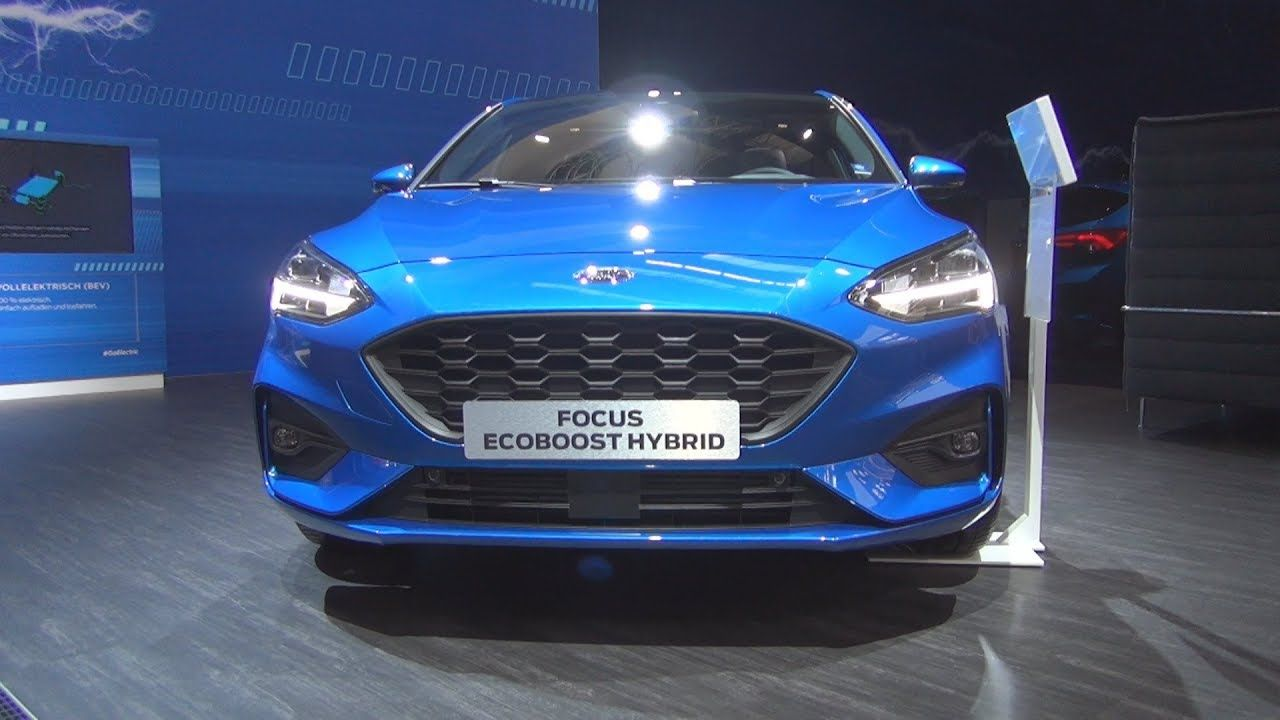 Ford Focus St Line 5 Doors 1 0 Ecoboost Hybrid 2020 Exterior And