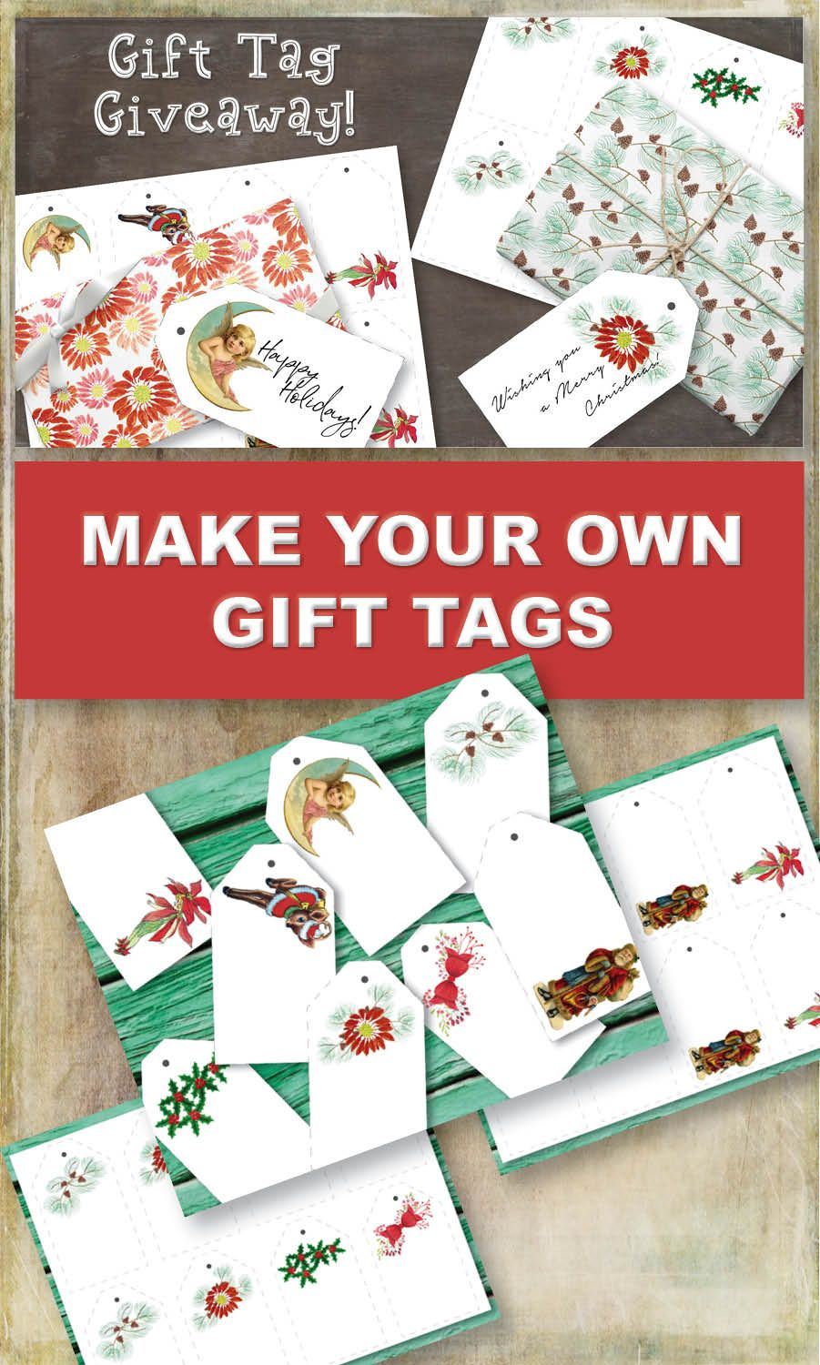 How To Make Your Own Gift Tags Little Gifts