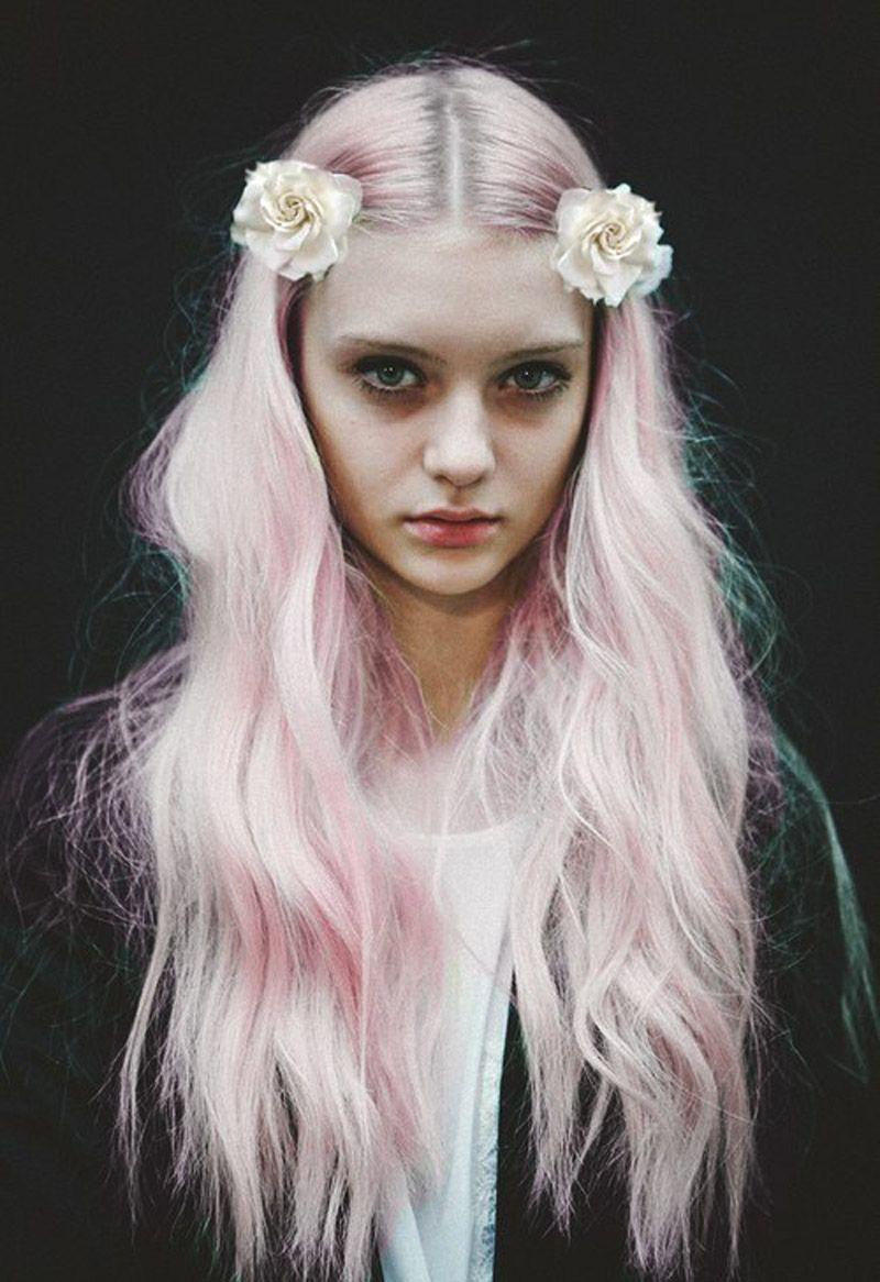 Flower Girl Light Blonde Hair Pale Blonde Hair Bleach Blonde Hair