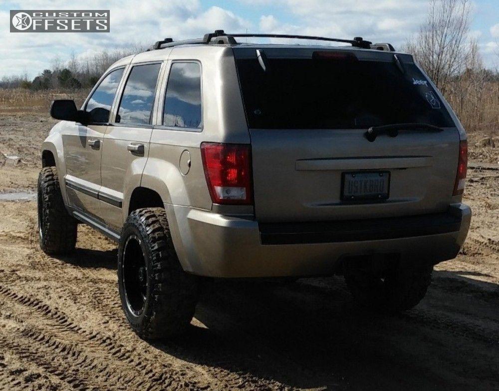 2 2005 Grand Cherokee Jeep Body Lift 3 Tuff T15 Black Aggressive 1 Outside Fender 2005 Jeep Grand Cherokee Jeep Grand Jeep