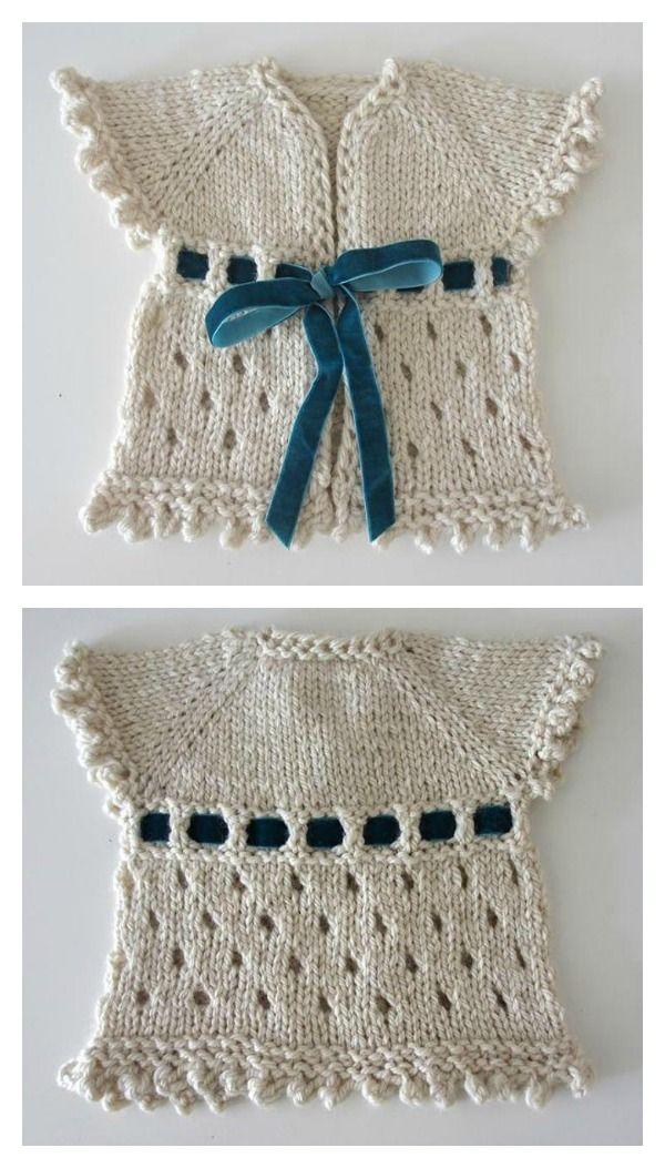 10+ Free Baby Sweater Knitting Patterns | Ropita de bebe, Suéteres ...
