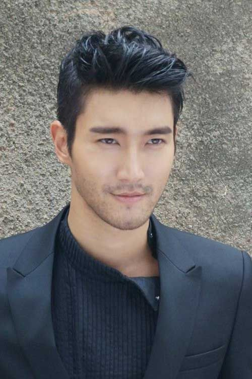 Asian Men Hairstyles Amazing 40 Hairstyles For Thick Hair Men's  Pinterest  Asian Men