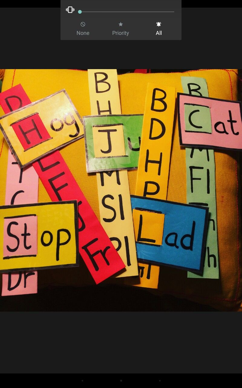 Fun Way To Teach Three Letter Words Kindergarten