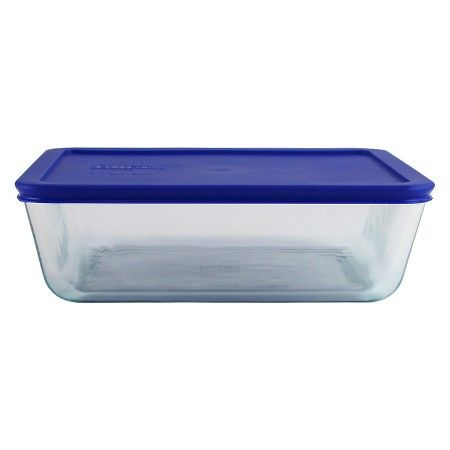 Pyrex 11 Cup Food Storage Container Cadet Blue Glass Food Storage Containers Food Storage Containers Pyrex Storage