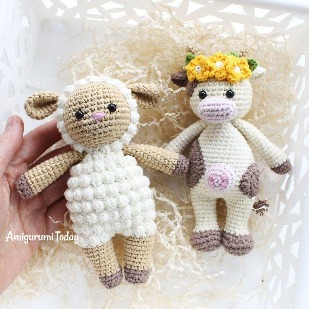 Famoso Patrón De Crochet Corazón Libre Colección - Manta de Tejer ...