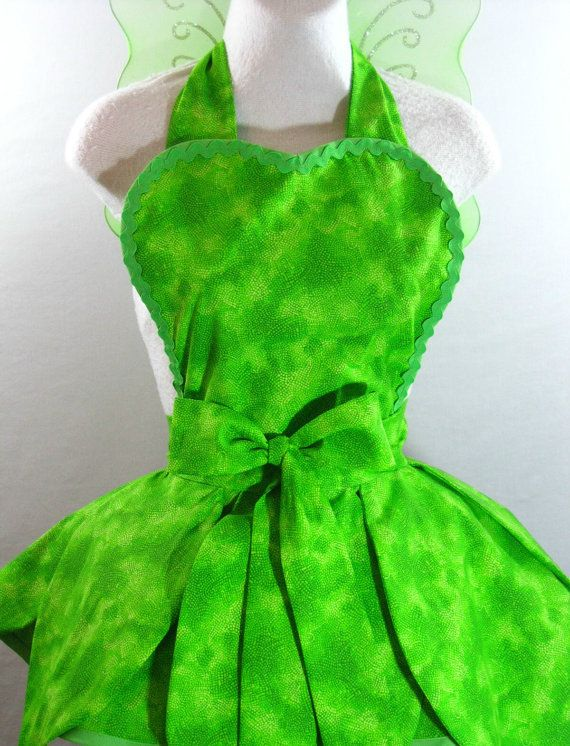 Tinkerbell Costume Apron by sjcnace4 on Etsy $65.00 : etsy tinkerbell costume  - Germanpascual.Com