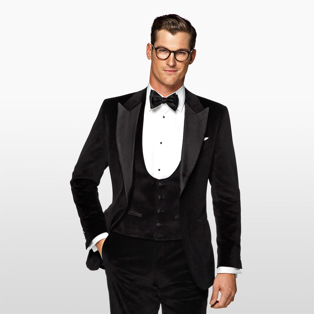 Editor's pick  The plain black 3-piece tuxedo.  88a1d25bc057