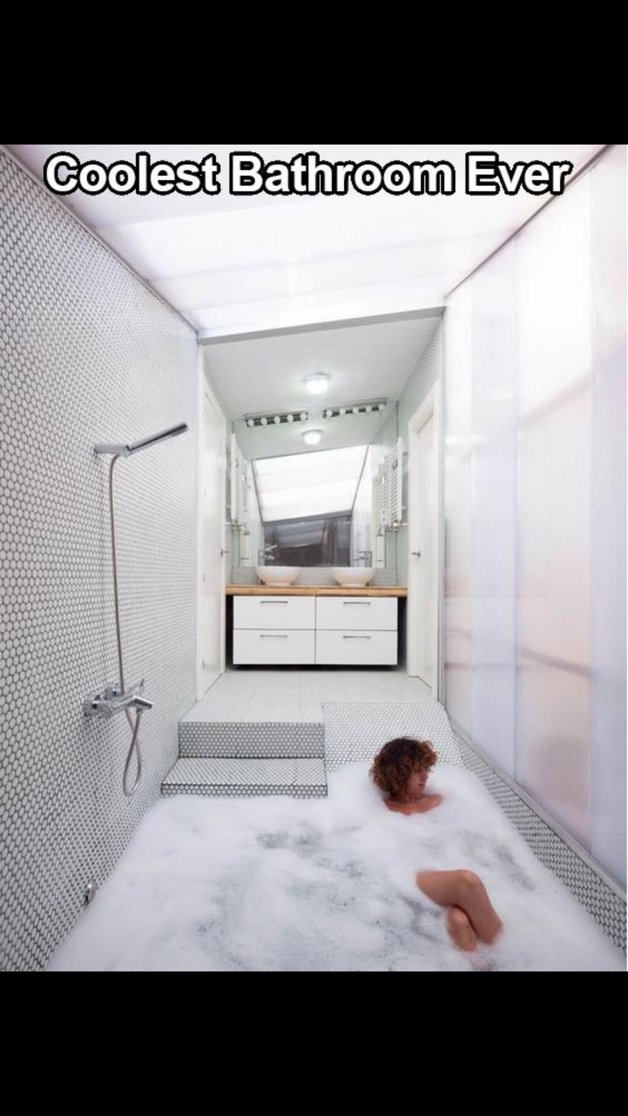 The perfect bathroom!