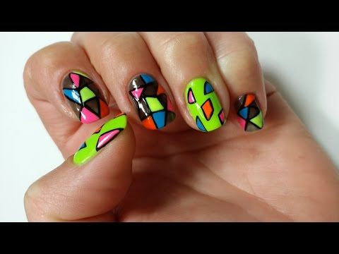 Easy Nail Art Design For Beginners 1 Youtube Simple Nail