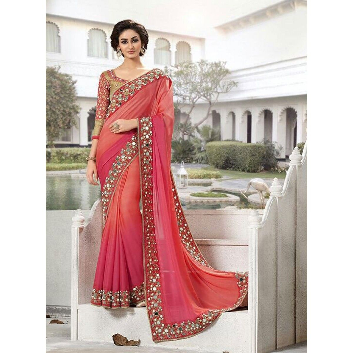 bridal wedding saree collection with price, wedding ...